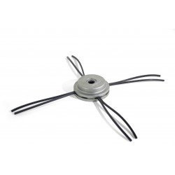Aluminum head with fixed wire