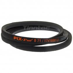 V-belt B071 - 17x1800