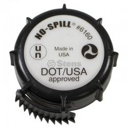 No-Spill DOT Fuel Can Cap